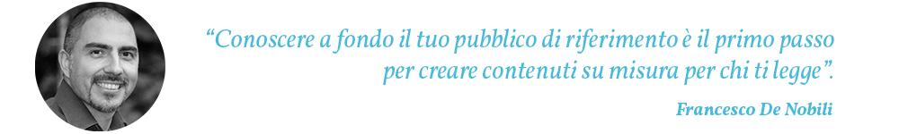 Citazione Francesco De Nobili