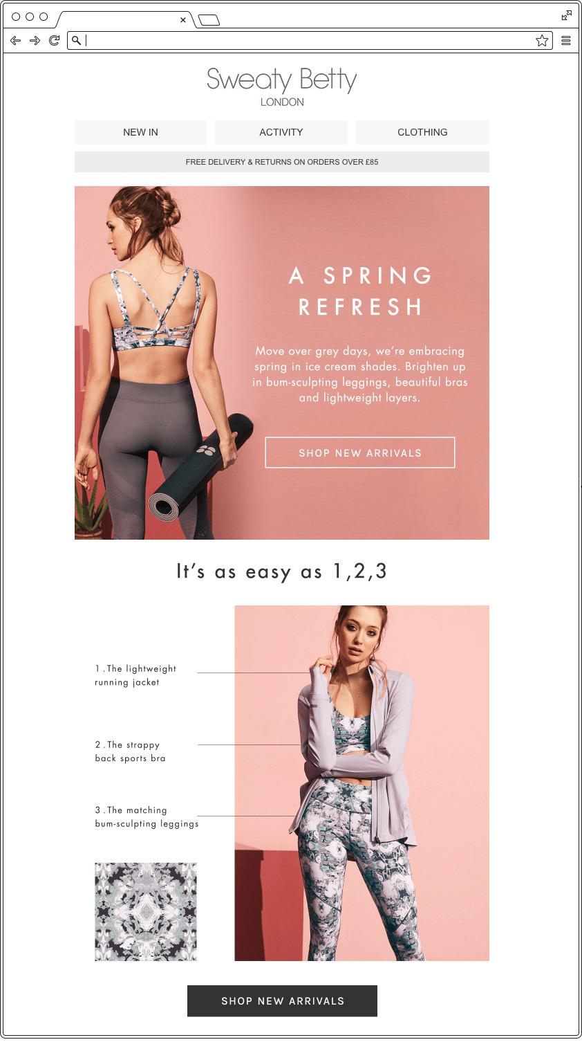 Email primavera