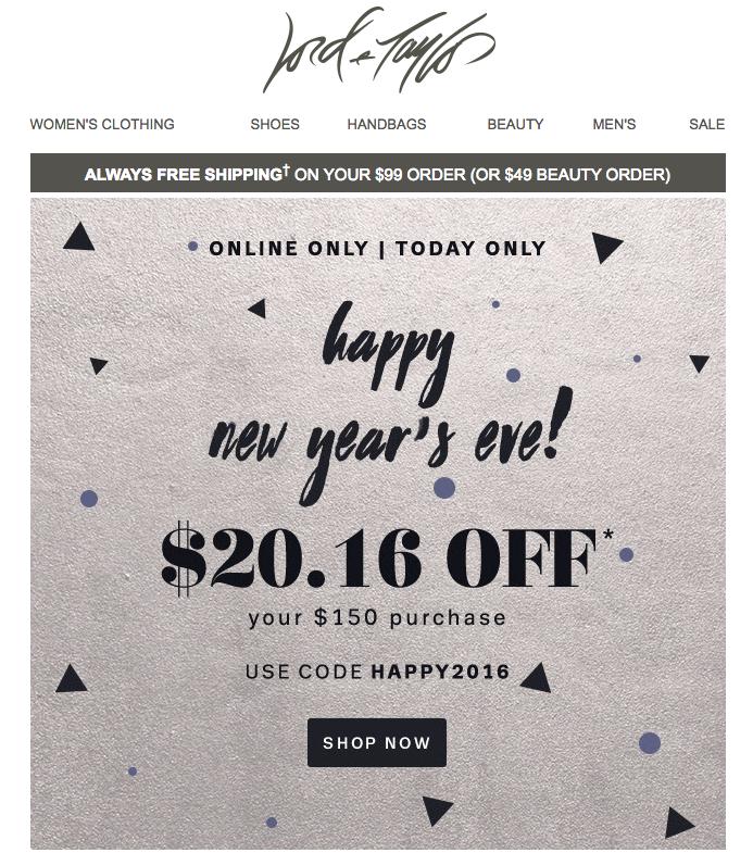 Email Capodanno