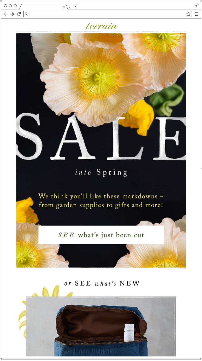 Email primavera - Giallo