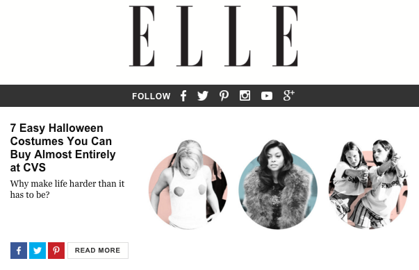 Newsletter Halloween - Elle