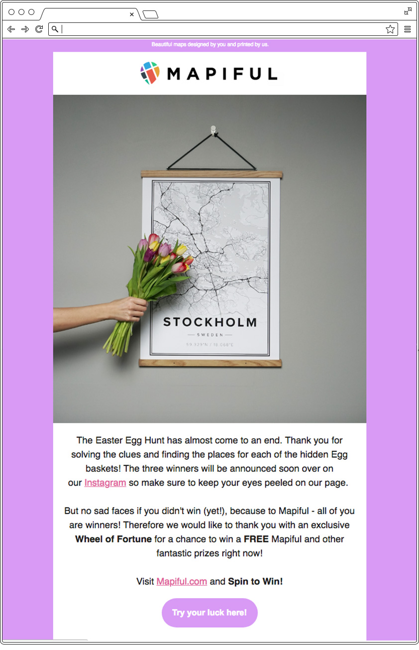 Email primavera - viola