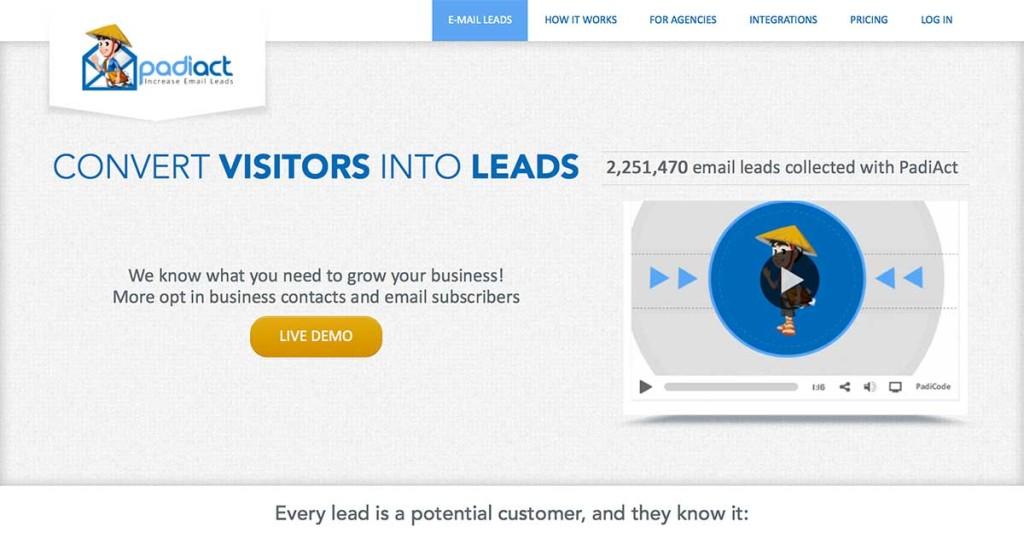 padiact strumenti email marketing mailup