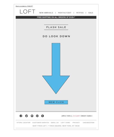 L'email di Loft