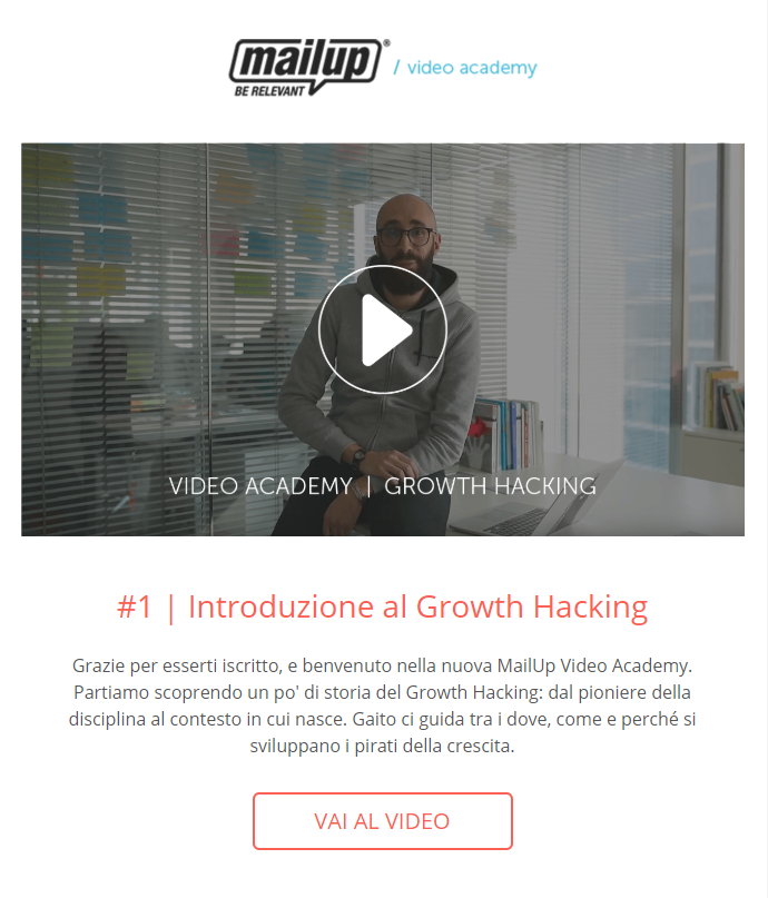 Il workflow di MailUp dedicato al Growth Hacking