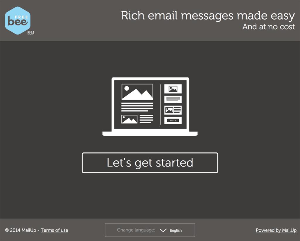 BeeFree strumenti email marketing mailup