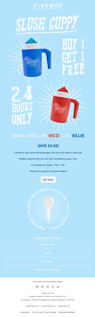 slush guppy email font esempio