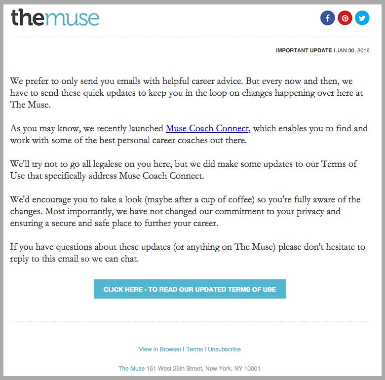 Il design fluido è la miglior tecnica per creare email ricche di contenuti.