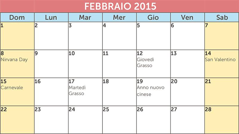 Calendario Anno 2015.Da Mailup Un Nuovo Template Per Il Calendario Editoriale 2015