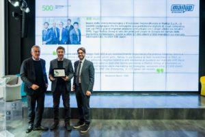 Premiazione Deloitte Technology Fast 500 EMEA 2017 MailUp
