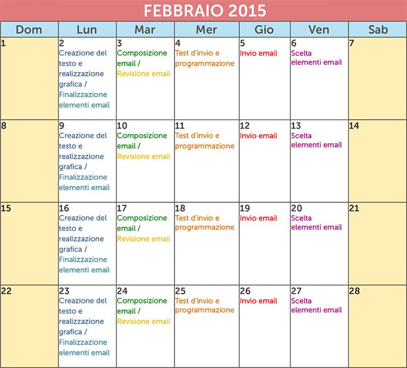 Esempio Calendario.Da Mailup Un Nuovo Template Per Il Calendario Editoriale 2015