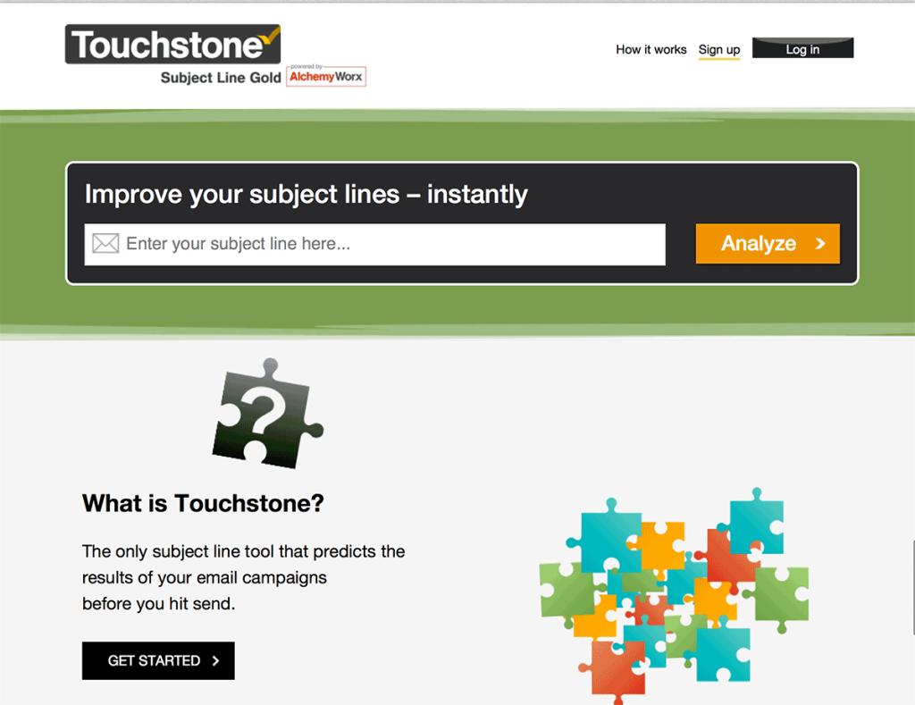 touchstone strumenti email marketing mailup