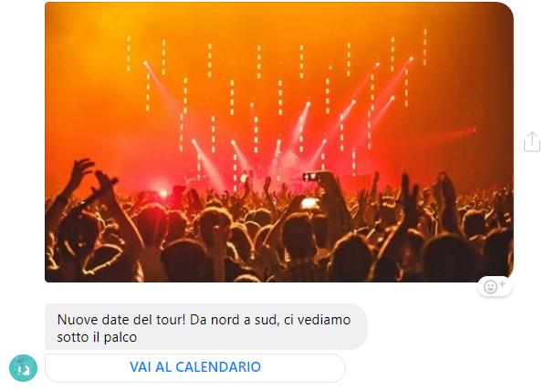 nuove date del tour