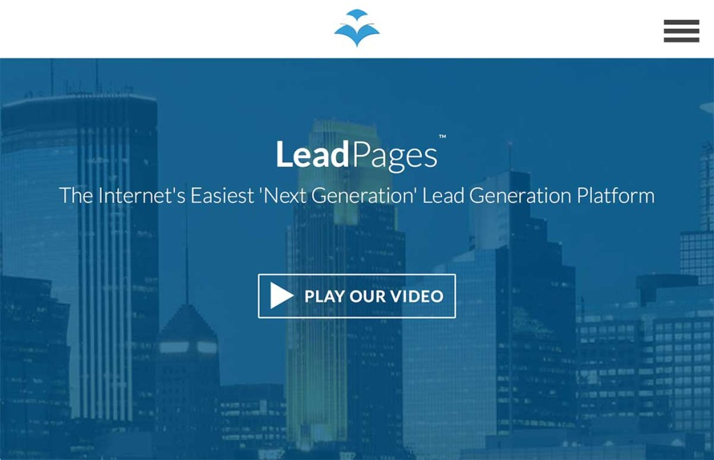 lead pages strumenti email marketing mailup