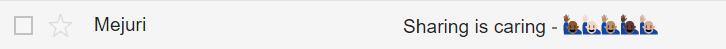 L'emoji nell'oggetto delle email