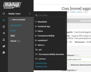 Gli altri miglioramenti di MailUp
