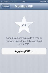 Nuova casella VIP