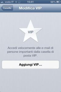 posta VIP di iOS6