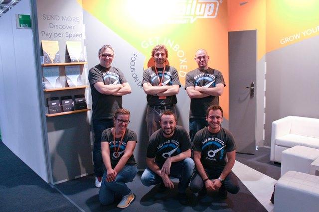 MailUp team @Dmexco