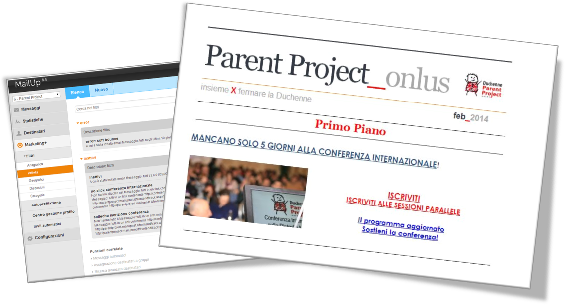 Parent Project: invito