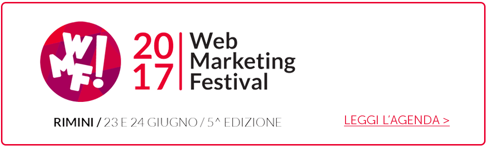 Agenda Web Marketing Festival 2017