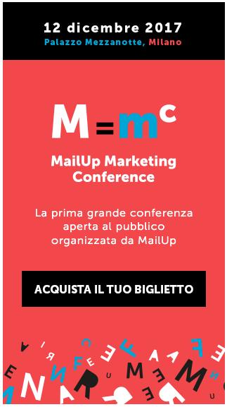 MailUp Marketing Conference - Acquista il tuo biglietto