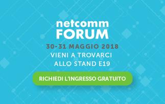 MailUp è sponsor di Netcomm Forum 2018