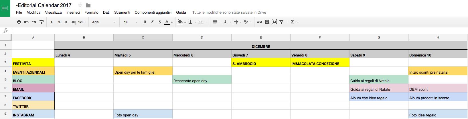 Esempio Calendario.Come Creare Un Calendario Editoriale Per L Autunno Mailup Blog