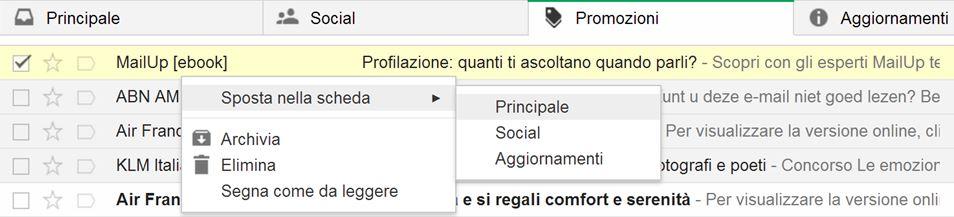 categorizzazione automatica