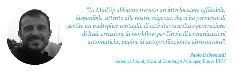 BPM - Citazione Paolo Debernardi