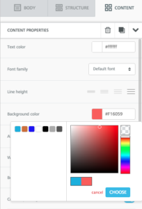 Colore bottone CTA