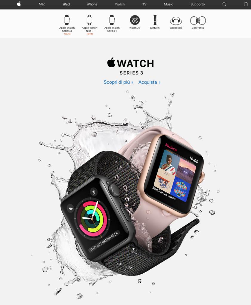 CTR - Esempio Apple