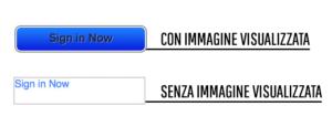 Design bulletproof: un esempio di mancata visualizzazione della CTA in immagine
