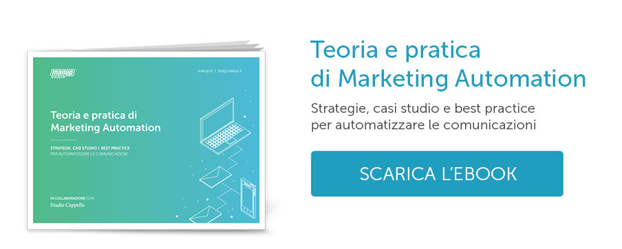 Scarica l'ebook di Marketing Automation