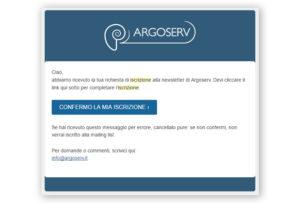 Conferma Argoserv