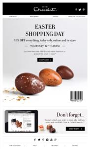 Email Pasqua offerta