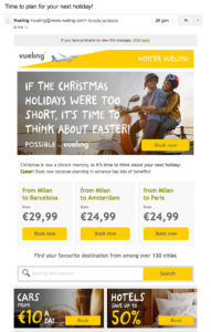 Email Pasqua ecommerce