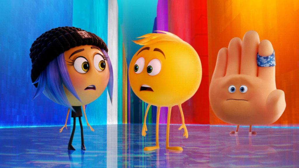 Un frame del film sulle emoji