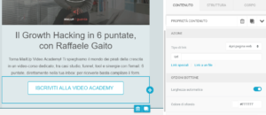 Come inserire la landing page nell'email