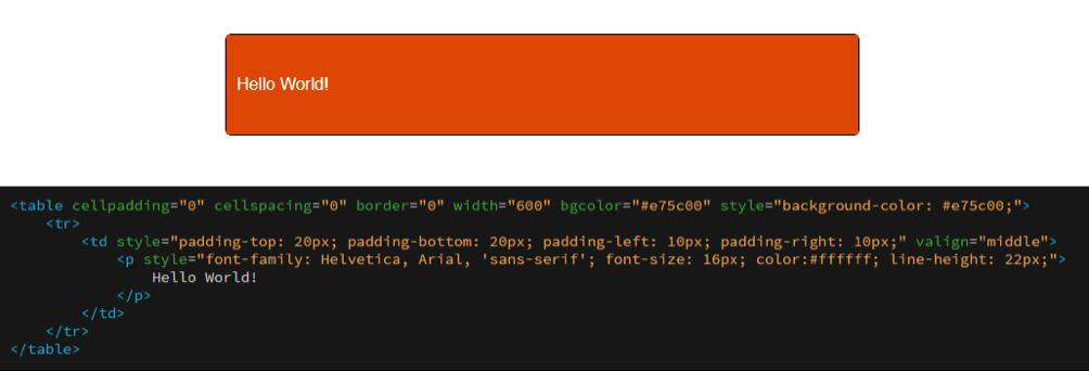 Esempio di codice
