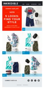Il form di profilazione di un e-commerce