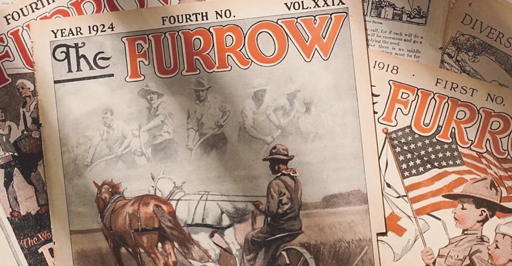 Alcune vecchie copie di Furrow Magazine