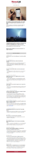 Gmail taglio email