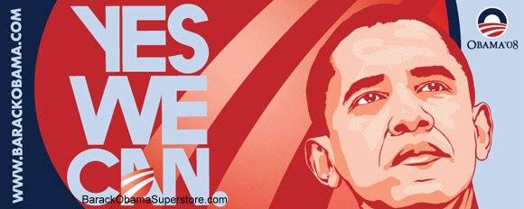 banner pubblicitario obama