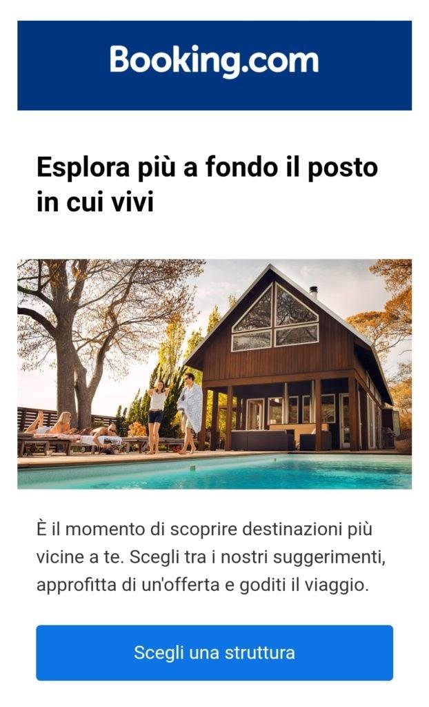 booking turismo di prossimità email