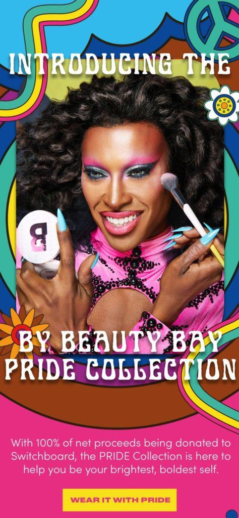 Beauty Bay campagna pride esempio