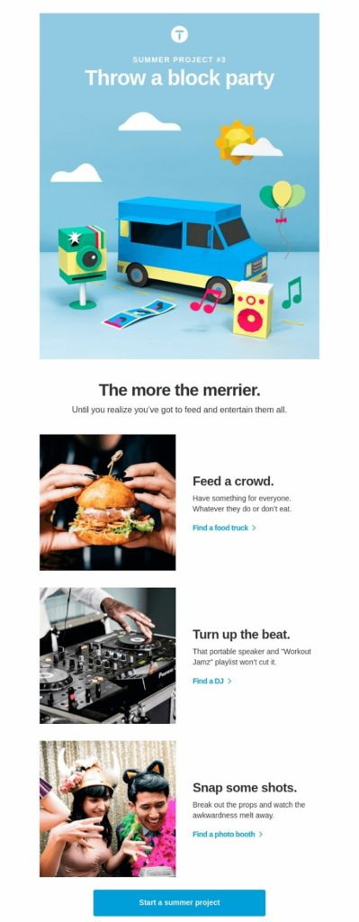 thumbtack drip campaign email 3