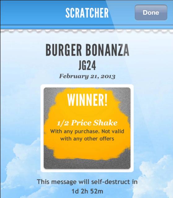 Il gratta e vinci digitale di Scratcher