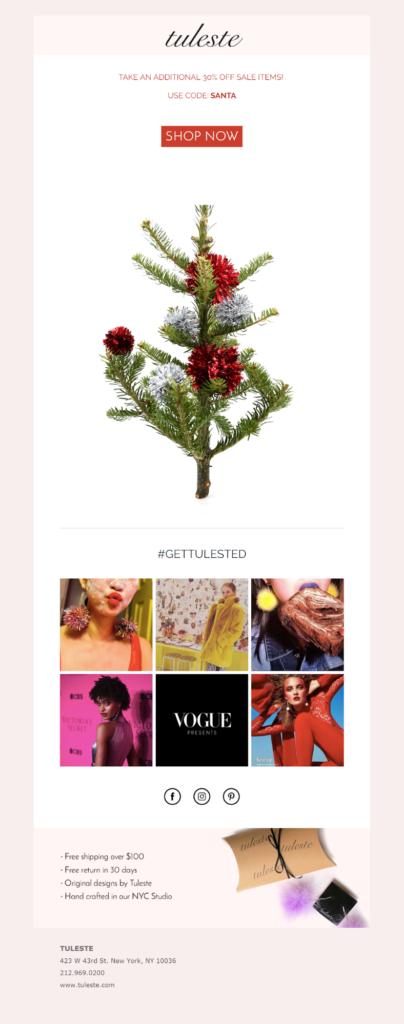 Un esempio di campagna di recupero carrelli per il Natale
