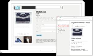 L'email transazionale di un e-commerce